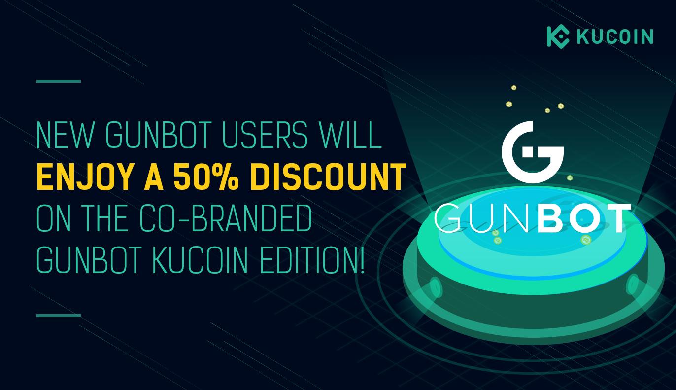 Kucoin Gunbot Partnership Discount Have Fun 1